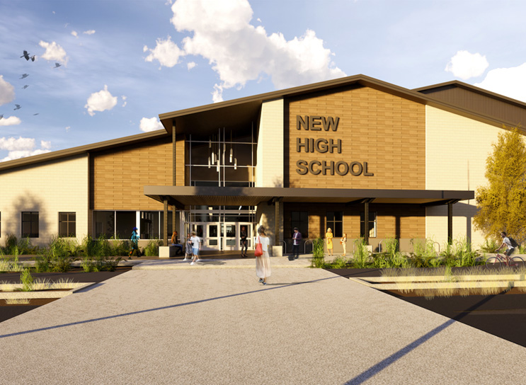 New High School in SE Bend